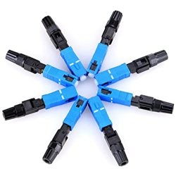 Fibra Óptica FTTH SC UPC APC ficha rápida Conector Rápido de fibra óptica econômica