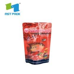 Imprimé personnalisé utilisé de l'élevage de volaille Poissons se nourrissent des sacs pour les animaux de conception