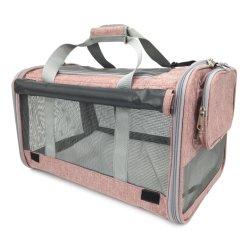 Mascota pequeña aerolínea/gato portador/gatito transportista/ raza del perro portador/Suave lana lavable de electrodos//Pet Pursetravel Tote/Kennel/portátil plegable/Caja/Bandolera