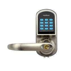Karten-Digital-Tastaturblock-Kennwort-Hotel-inländisches Wertpapier-Zylinder-elektronischer intelligenter Griff-sicherer Tür-Verschluss des Edelstahl-RFID für Innenministerium