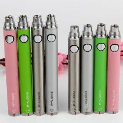 Préchauffez Evod torsion de la batterie 1100mAh Batterie de tension variable avec 11 couleurs