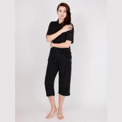 Bequeme dickflüssige Damen druckten Pyjama