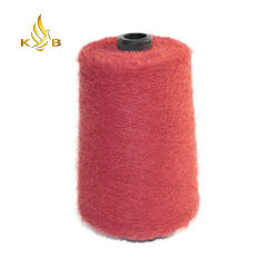 뜨개질을 하기를 위한 연약한 털실 밍크 털실 기털 털실 속눈섭 털실
