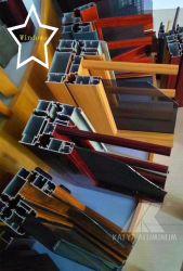 Türen und Windows öffnet den Fenster-hölzernes Korn-populären Fenster-Isolierungs-fehlerfreie Isolierungs-Screening Anti-Moskito, der in China hergestellt wird