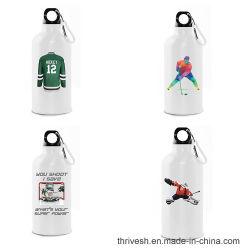 BPA geben Metallkundenspezifische Sport-Getränk-Aluminiumflasche mit Carabiner frei
