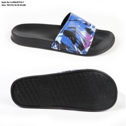 أحدث تصميم منخفض munq PU Upper EVA Sole Men Fashion Slipper