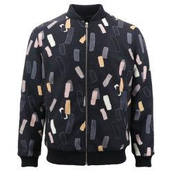 디자이너 개인 라벨 사용자 지정 로고 도매 겨울 야외 프린팅 플리스 정장 남성용 파일럿 재킷 새 패션 양모 피팅의 슬림 고품질 봄버 의류