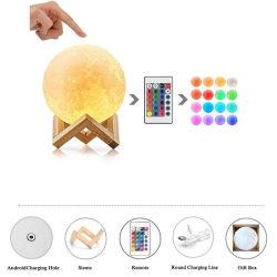 3D-печати Moonlight фонарь светодиодный индикатор
