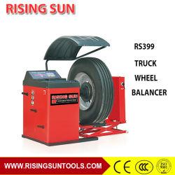 A equilibragem das rodas utilizados equipamentos de reparação de camiões pesados para manual
