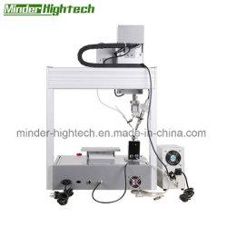 4-Axis Single-Station automático de soldadura con robot de la máquina de soldadura de hierro para plug-in de componentes electrónicos