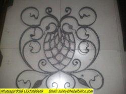 O ferro forjado Painel escada de aço forjado Ornament