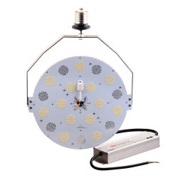 Substituição da Lâmpada Mh 400 W E40 120 Watts rua LED lâmpada com Dlc listados