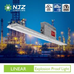 LED リニア防爆照明、危険区域用 UL C1D2