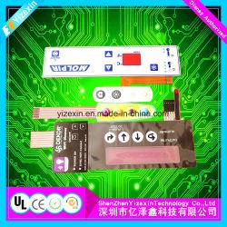 ISO14001/UL/SGS/RoHS/FCC/のセリウムが付いているマルチキーの膜スイッチ