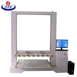 Venta directa de fábrica Digital Paquete de cartón máquina de ensayo de fuerza de compresión