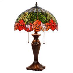 """indicatore luminoso di lusso antico nordico di Tiffany della decorazione di notte del lato del letto dell'annata 8 """" 12 """" 16 """" 20 ''"""