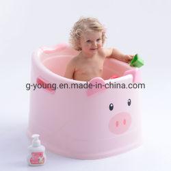 Adorável Plástico Bebê Banheira de Hidromassagem, Bebê / Animal Balde