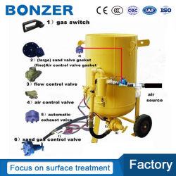 塵取り外しのための移動式携帯用小さい小型ぬれたタイプ砂の発破工のSandblaster機械