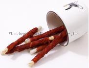 OEM Produttore mangimi per animali essiccando pollo anatra carne di manzo proteina Cibo di snack ricco cane