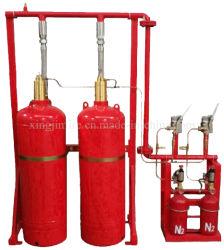 Système d'extinction incendie FM200 avec panneau de commande électrique