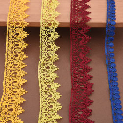 도매 공장 다채로운 폴리에스테르 기포 자수 화학 끈