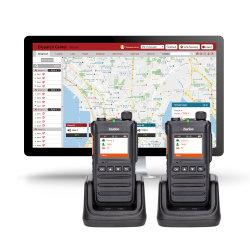 Inrico T640 Lte/WCDMA/GSM/WiFi Public Network Reapter Wireless Radioの2方法Walkie Talkie 4000mAh