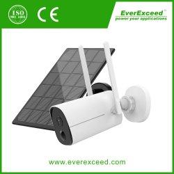 Drahtlose CCTV-Überwachungskamera für den Außenbereich wiederaufladbare batteriebetriebene WiFi-Überwachungskamera Everexceed Heimüberwachungskamera mit Nachtsicht, zwei-Wege-Audio