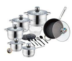 9 Passos 20PCS cozinha de aço inoxidável Ware