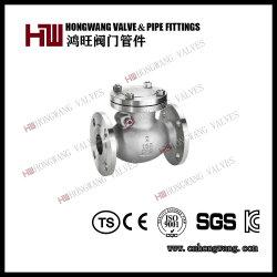 Industriel en acier inoxydable bride standard américain/japonais 150/600 du clapet antiretour de pivotement (HW-CV 1006)