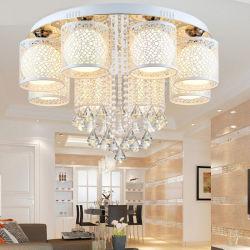 Het moderne Plafond van het Kristal van het Glas steekt de Inrichtingen van de Lamp voor de BinnenLamp van het Huis aan (wh-ca-37)