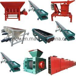 Linea di produzione della mattonella dell'espulsore della macchina della mattonella del carbone di legna