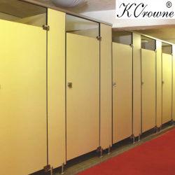 공공 상업용, 현대적인 내구성 화장실 파티션 시스템