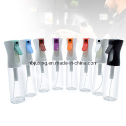 200ml 300ml 360ml 500ml garrafa spray de gatilho fina neblina de água garrafa spray contínuo reutilizáveis de Spray de névoa de garrafa plástica
