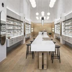 Hölzernes geschmälertes Art-Sonnenbrille-Speicher-Bildschirmanzeige-Großhandelsgerät