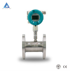 شاشة عرض LCD مقياس تدفق لتوربين سائل يعمل بالتيار المستمر من النوع السلكي مقياس تدفق المذيب مقياس تدفق الكحول