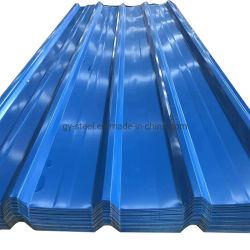 Kg에 의하여 직류 전기를 통하는 물결 모양 PPGI 루핑 장 당 온화한 강철 가격 인도에 있는 1개 Kg 철 가격