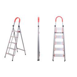 Koolstofstaal die de Multifunctionele Ladder van het Aluminium vouwen