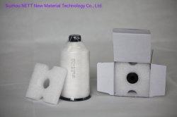 De Naaiende Draad PTFE van 100% voor de Zakken van de Filter van het Stof van de Smeltende Oven van het Glas