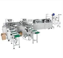 Hochgeschwindigkeitsstall 3 Falte-chirurgische Gesichtsmaske, die Maschine mit Earloop herstellt