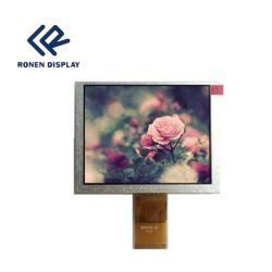 5 인치 640X480 ODM HD TFT LCD 디스플레이 산업 전기 용량 접촉 스크린