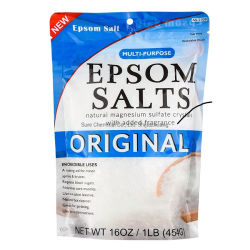 Английская соль с ароматом добавлен как Соль для ванн