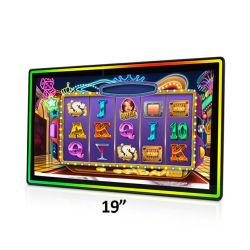 19 inch Open Frame geprojecteerd capacitief meervoudig 10-punts aanraking Sensorscherm touchscreen Film Monitor LCD met IPS TFT 4:3 LED-balk aan de voorzijde van het HD-casinoslotdisplay