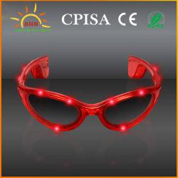 Colorido Cool suministros de parte de la luz de LED intermitente hasta gafas