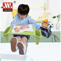 Storageの熱いSale Portable Plastic Kids Lap Study Desk