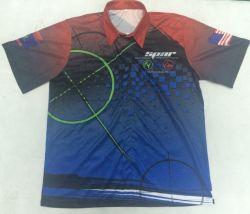 Custom 100% полиэстер Dryfit Pit Crew F1 Racing футболки для мужчин Racing поощрения износа