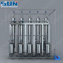 Macchina automatica di separazione di cromatografia dell'acciaio inossidabile per l'olio di Cbd