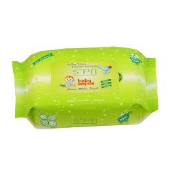 De nieuwe Natte Baby van de Alcohol van de Weefsels van de Zorg van de Huid van de Producten van de Baby Natte Vrije Natuurlijke veegt de Punten van de Zorg van de Baby af