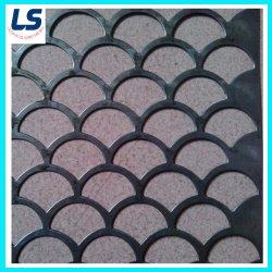 فتحة دائرية للوحة المعادن من الفولاذ المقاوم للصدأ/المجلفنة المصنوعة من الفولاذ/الألمنيوم الصلب المُثقب