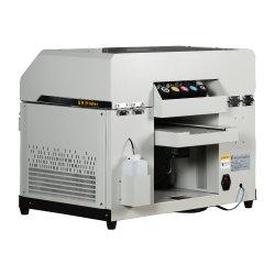 A melhor impressora vaso UV 3D máquina de impressão em relevo Impressoras planas do cilindro para o caso de telefone barato máquina UV