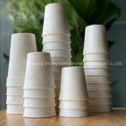 100% biodegradierbares Eco freundliches kompostierbares Maisstärke-Wegwerfcup für Wasser-Suppesmoothie-Eiscreme-Joghurt-Cup